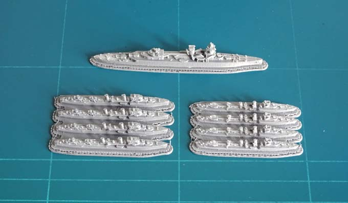Go to the page list of the Dutch Navy Warships Models