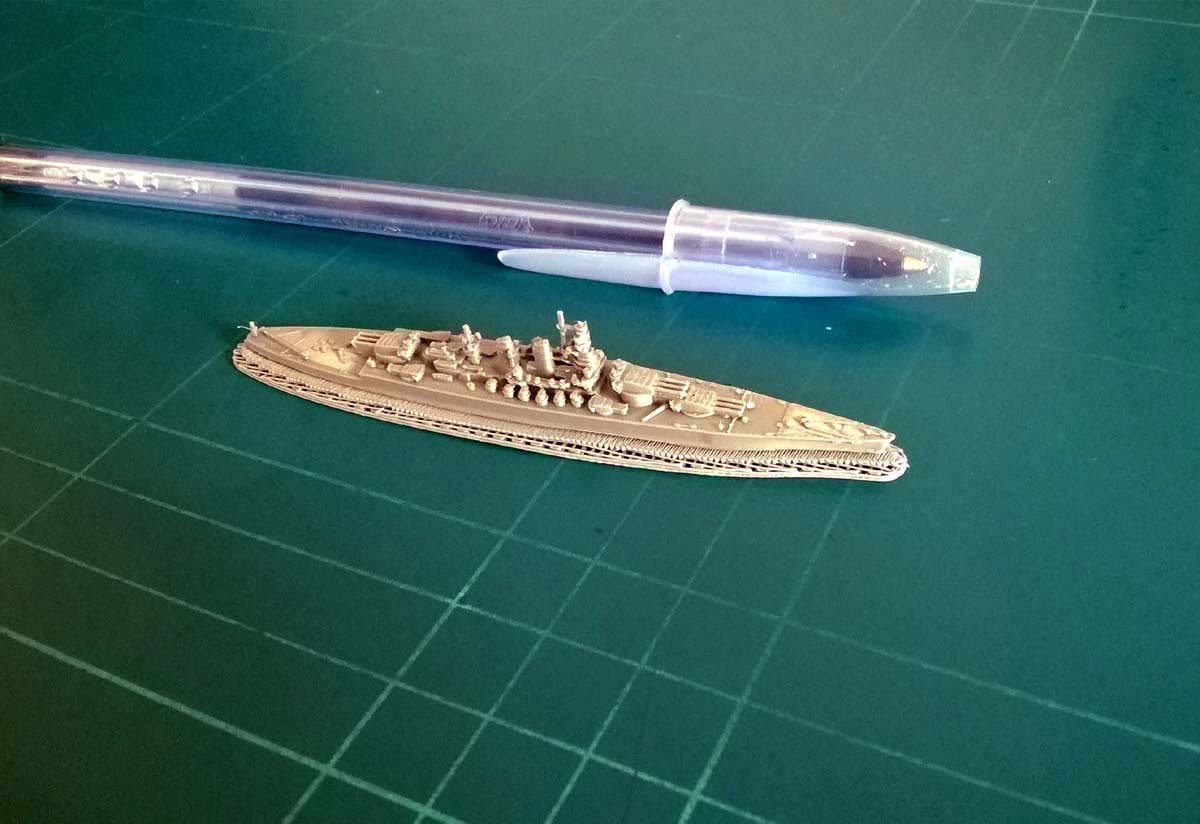 Go to the page list of the Italian Warships Models of the Second World War